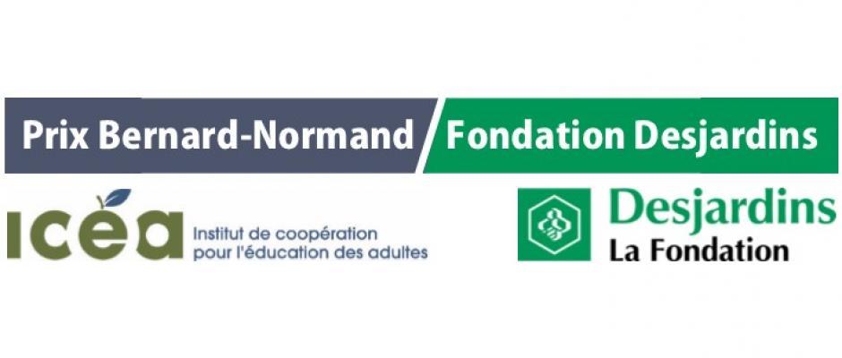 Visuel des prix Bernard-Normand / Fondation Desjardins