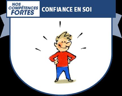 Confiance en soi, badge numérique NCF de compétence
