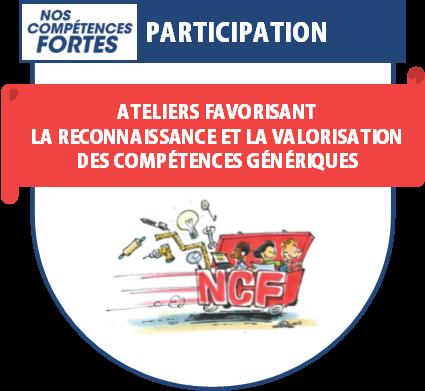 Badge numérique de participation, Nos compétences fortes