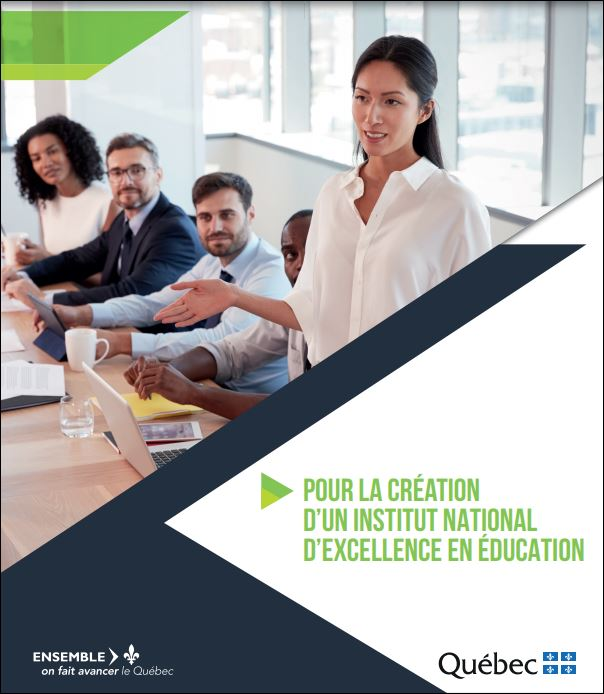 Page couverture du document de consultation