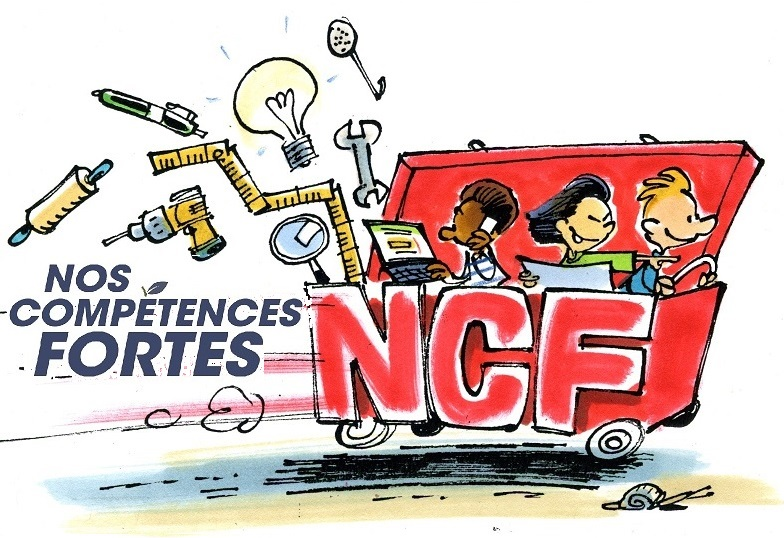 Logo et illustration NCF