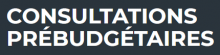 Logo consultations prébudgétaires