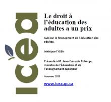 Page couverture ais de l'ICÉA