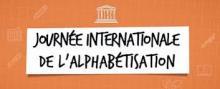 Logo journée alphabétisation