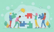 Illustration des rôles sociaux des adultes