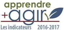 Apprendre + Agir, les indicateurs 2016-2017