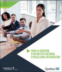 Page couverture du document de consultation