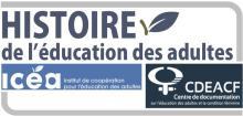 Logo site web histoire de l'éducation des adultes